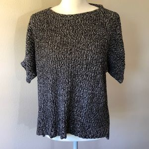 Loft Batwing Short Sleeve Sweater - S